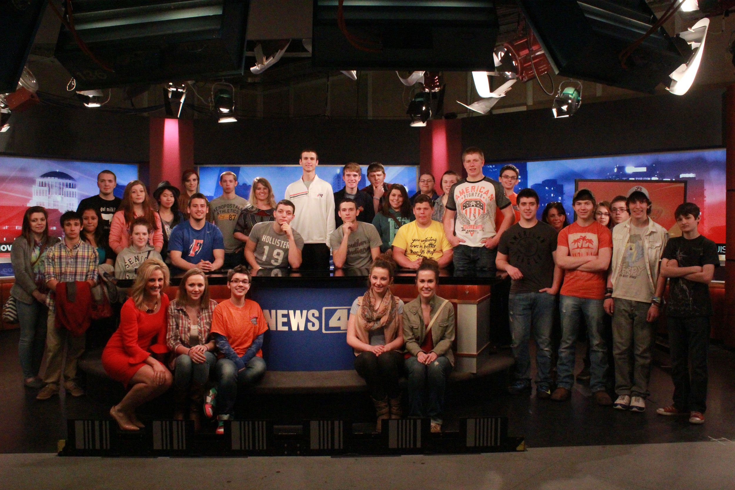 Video, Publications students to tour KMOV studios with former student