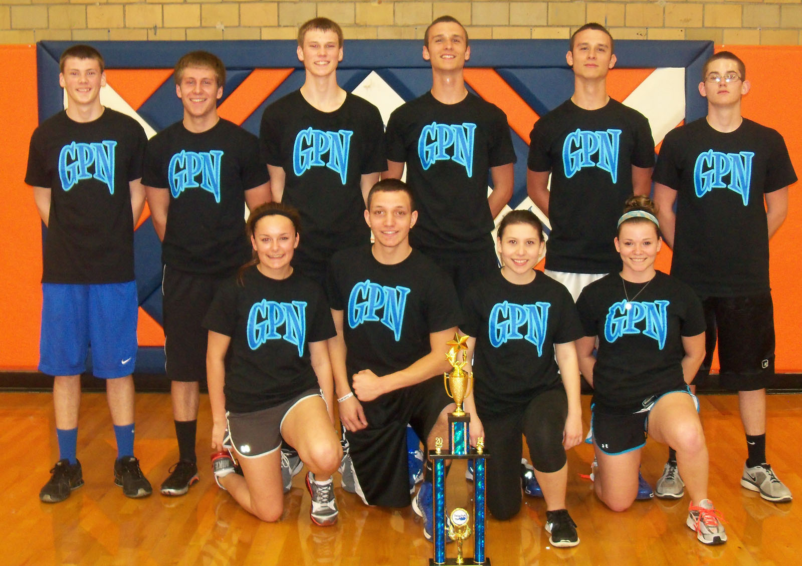 GPN wins Post Prom Dodgeball Tourney