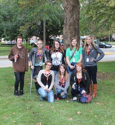 Publications attends conference at UIUC