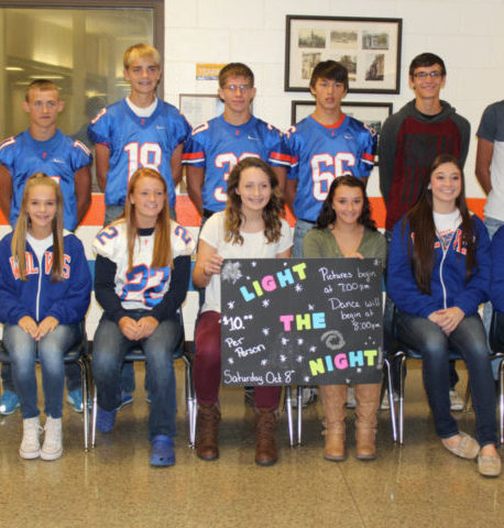 Homecoming court candidates announced